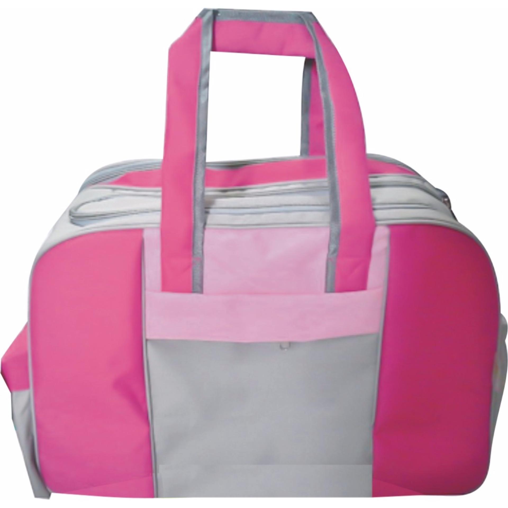 Toko Emwe Travel Baby Bag Organizer Large Tas Botol Susu Bayi Balita Diaper Travell Magenta Pink Jawa Tengah