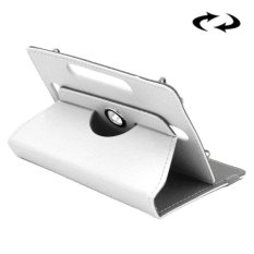 ENKAY 10 Inch Tablet Leather Case Crazy Horse Tekstur 360 Derajat Rotasi Protective Case Shell dengan Holder untuk ASUS ZenPad 10 Z300C, Huawei MediaPad M2 10.0-A01W, Cube IWORK10 (Putih)-Intl