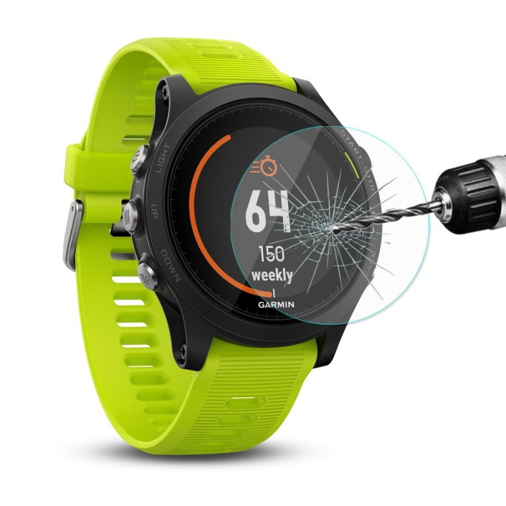 Spesifikasi Enkay Hat Prince For Garmin Forerunner 935 Smart Watch 2Mm 9 H Permukaan Kekerasan 2 15D Explosion Proof Tempered Glass Full Screen Film Murah Berkualitas