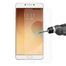 ENKAY Hat-Prince untuk Samsung Galaxy C9 Pro/C900 0.26mm 9 H Permukaan Kekerasan 2.5D Ledakan- Proof Film Anti Gores-Intl
