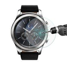 Enkay Hat-Prince untuk Samsung GEAR S3 Smart Watch 0.2mm 9 H Kekerasan Permukaan 2.15d Tahan Ledakan Film Anti Gores-Intl