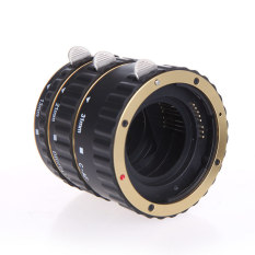 Beli Eos Ef Ef S 60D 7D 5D Ii 550D Colorful Metal Ttl Auto Focus Af Extension Tube Ring Untuk Canon Golden Lengkap