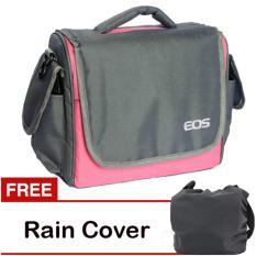 Spek Eos Tas Kamera Canon 2 Lensa Pink Gratis Rain Cover Eos