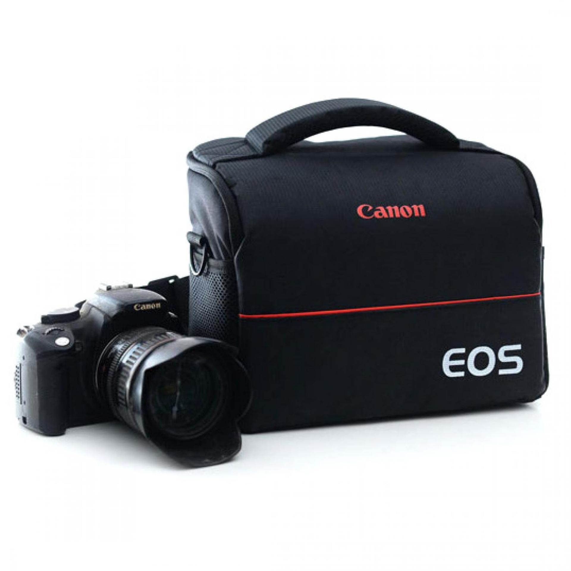 Beli Eos Tas Selempang Kamera Dslr For Canon Nikon Black