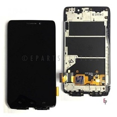 Epartsolution-oem Motorola Droid Ultra XT1080 MAXX 1080 M LCD Digitizer Layar Sentuh Depan + Frame Assembly Replacement Bagian USA Seller-Intl