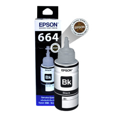 Epson 6641 Black Ink Bottle - 70 ml