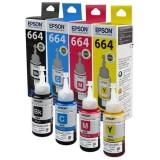 Review Epson Ink Catridge T664 Set T6641Bk C13T664100 T6642C C13T664200 T6643M C13T664300 T6644Y C13T664400 Epson Di Dki Jakarta