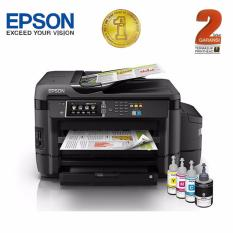 Epson Printer All in One A3 L1455 Wi-Fi - Hitam (Print, Scan, Copy, Fax)
