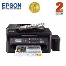 Beli Epson Printer All In One L565 Wifi Hitam Print Scan Copy Fax Online Terpercaya