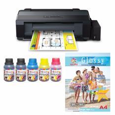 Epson Printer L1300 Sun Nfi Premium 100 Ml Bonus Next Generation Glossy Photo A4