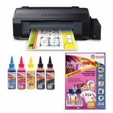 Epson Printer L1300 Sun Sublime Max Ink Bonus Sublime Max Paper A4
