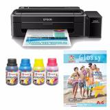 Tips Beli Epson Printer L310 Sun Premium Ink Nfi Bonus N G Photo Glosy Paper A4 Yang Bagus