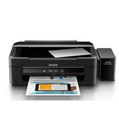Epson Printer L360 ( Print Scan Copy ) Ink Tank Sytem Garansi Resmi - Hitam