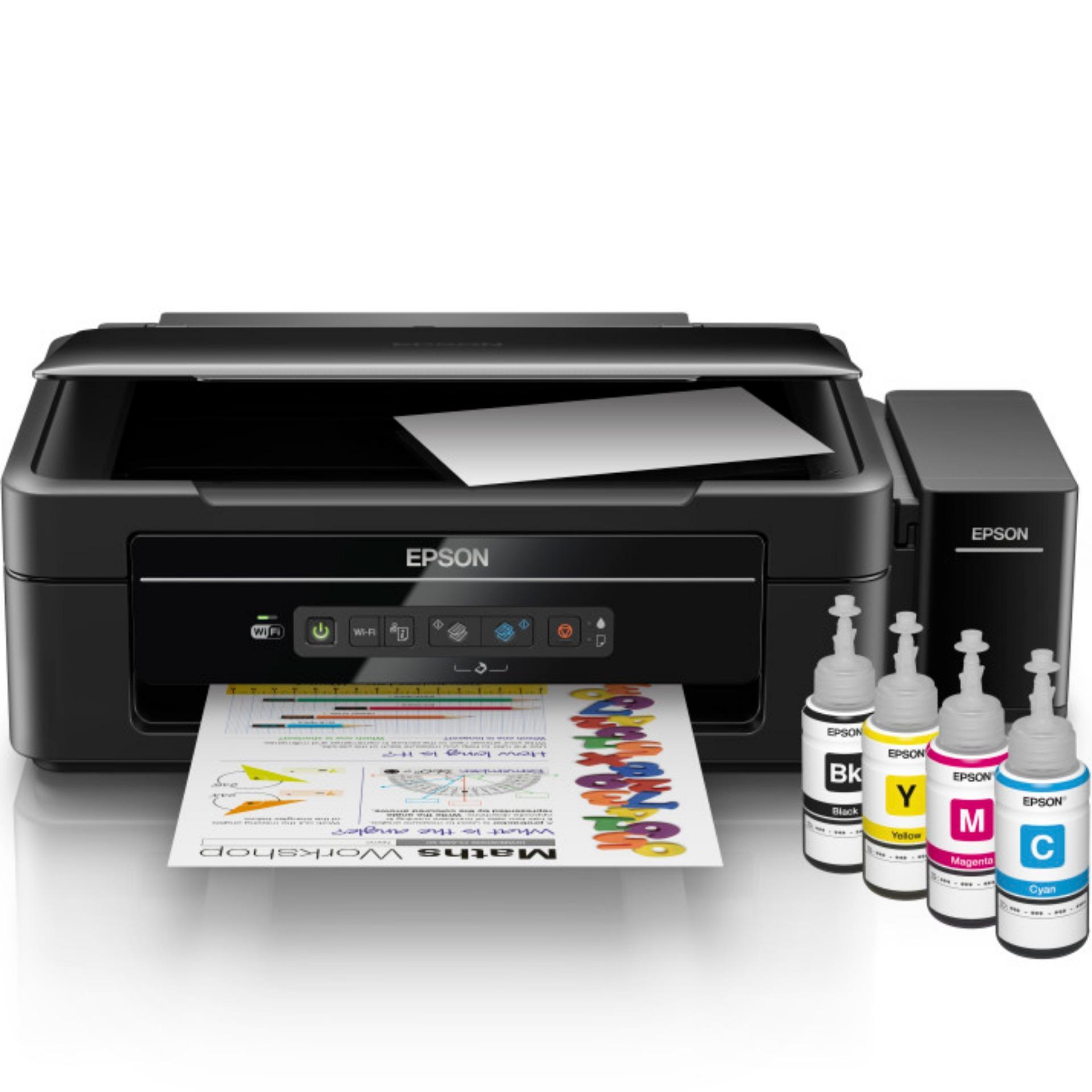 Promo Epson Printer L385 Hitam Banten