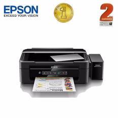 Spesifikasi Epson Printer Multifungsi L385 Wifi Hitam Print Scan Copy Dan Harga