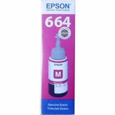 MURAH - Epson T6643 Tinta Printer Original - Magenta