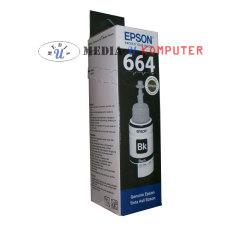 Epson Tinta 664 Original L100 L110 L120 L200 L210 L220 L300 L310 L350 L355 L360 L365 L455 L550 L555 L565 L655 L1300 Hitam