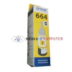 Epson Tinta 664 Original L100 L110 L120 L200 L210 L220 L300 L310 L350 L355 L360 L365 L455 L550 L555 L565 L655 L1300 Kuning
