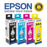Spesifikasi Epson Tinta T664 Series Value Pack 4 Colour Terbaik