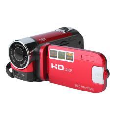 Era 2.7 Inch TFT LCD HD 720 P 16X Zoom Digital Video DV Kamera Camcorder Merah