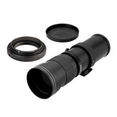 ERA 420-800mm F/8.3-16 Super Telephoto Manual Zoom Lens T-mount untuk Canon EOS DSLR-Intl