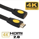 Harga Era 5 M Hdmi Male To Female Kabel Ekstensi 4 K 2 V Flat Hdmi Extended Cable Adapter Intl Oem Original