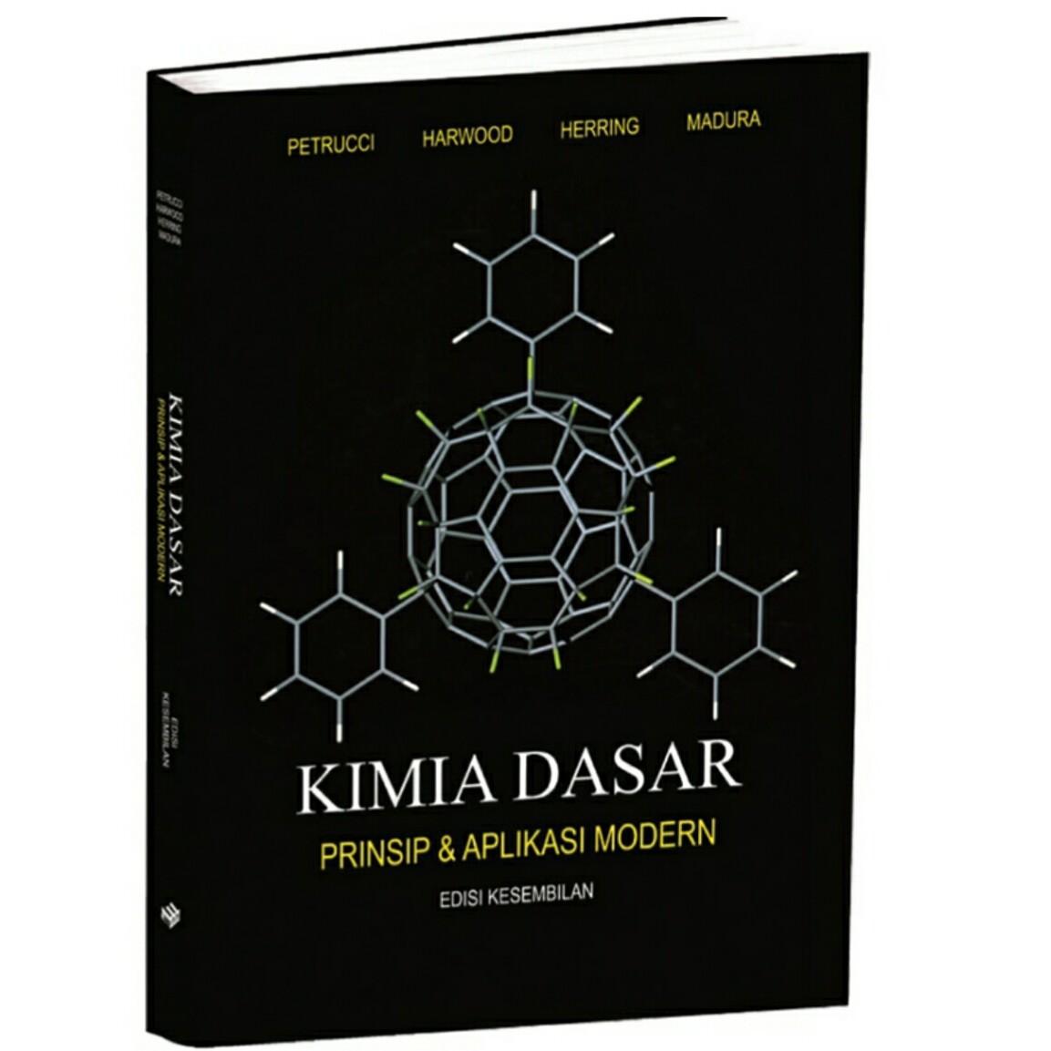 Erlangga Buku - Kimia Dasar : Prinsip & Aplikasi Modern JL.1 Ed.9