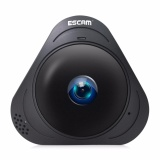 Spesifikasi Escam Q8 Hd 960 P 1 3Mp 360 Derajat Panoramic Monitor Fisheye Wifi Ir Inframerah Kamera Vr Camera Dengan Two Way Audio Motion Detector Eu Plug Intl Merk Escam