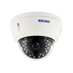 Escam QD420 Dome Keamanan Cmaera H.265 4MP 2592*1520 @ 18FPS IP66 IR Dome Tahan Air 3.6 Mm Lensa Tetap dukungan OS Android PC-Intl