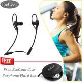 Cuci Gudang Esogoal Bluetooth Wireless Headphone Olahraga Workout Telinga Tunas Gym Headset Berlari Earphone Tahan Keringat Earbud Dengan Esogoal Earphone Case