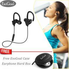 Harga Esogoal Bluetooth Wireless Headphone Olahraga Workout Telinga Tunas Gym Di Telinga Headset Berlari Earphone Tahan Keringat Earbud Dengan Gratis Esogoal Earphone Case Esogoal Tiongkok