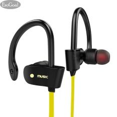 Jual Esogoal Bluetooth Wireless Headphones Sport Workout Ear Buds Gym Headsets Running Earphones Sweatproof Earbuds Yellow Intl Ori