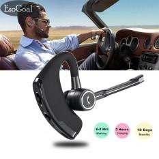 Penawaran Istimewa Esogoal Bisnis Bluetooth Headset Nirkabel Bluetooth 4 1 Earbud Headphone Dengan Noise Reduction Saklar Bisu Hands Free Dengan Mic Untuk Kantor Bisnis Latihan Mengemudi Intl Terbaru
