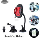Esogoal Mobil Mount Holder 3 In 1 Air Vent Phone Holder Cradle Dashboard Kaca Depan Universal Untuk Iphone Android And More Perangkat Esogoal Diskon 30