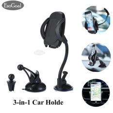 Esogoal Mobil Mount Holder 3 In 1 Air Vent Phone Tempat Dudukan Dashboard Kaca Depan Universal Untuk Iphone Android Dan Lebih Banyak Perangkat Intl Esogoal Diskon 30