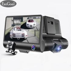 Harga Hemat Esogoal Dash Dash Cam 3 Channel Fhd 1080 P 4 Dual Lens Dengan Rear View Camera Video Perekam G Kamera G Sensor Camcorder Dashboard Camera Night Vision G Sensor Intl