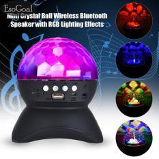 Beli Esogoal Disco Dj Bluetooth Speaker Rotating Led Strobe Bulb 6 Mengubah Multi Warna Crystal Stage L Ight Nirkabel Speaker Party Dance Natal Esogoal Dengan Harga Terjangkau