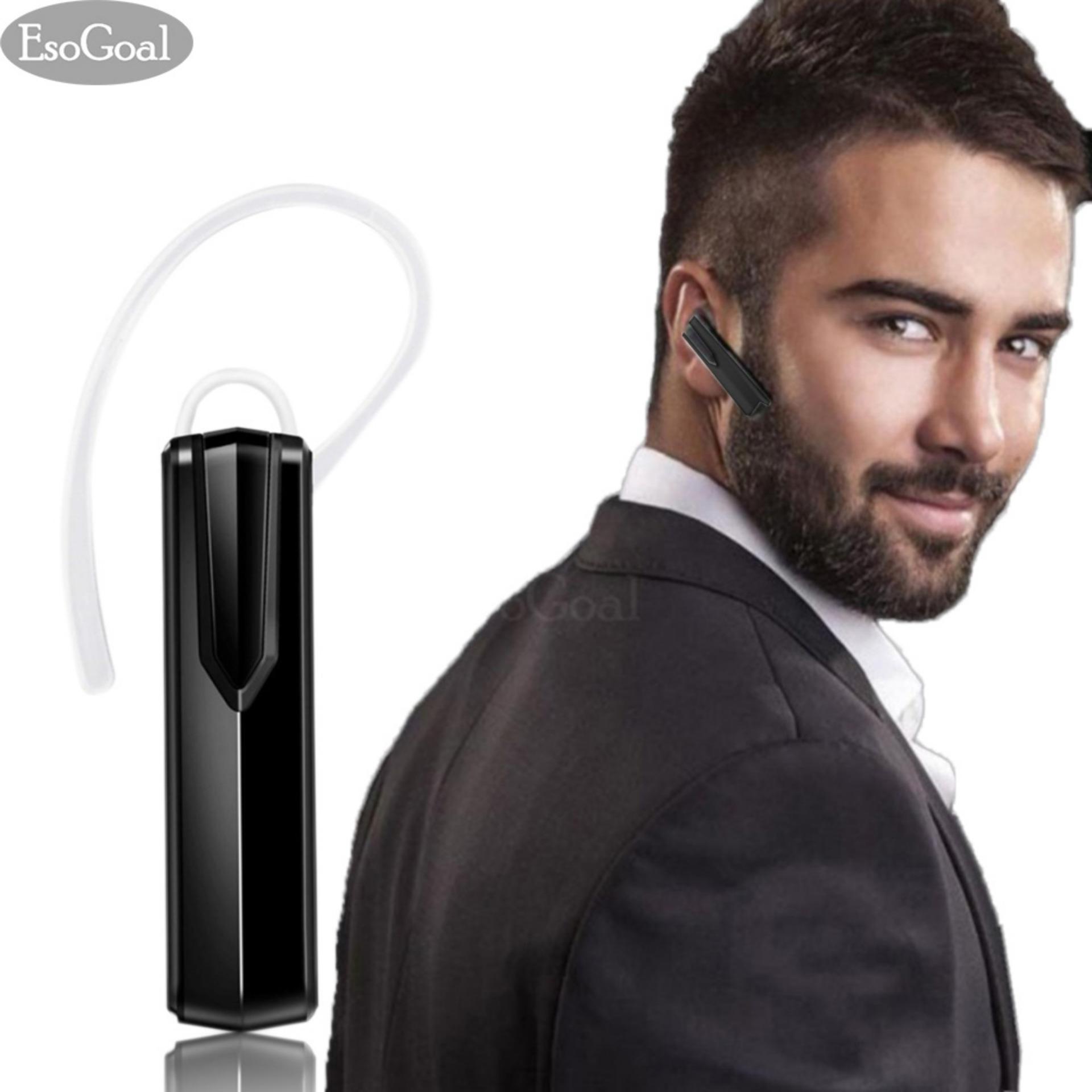 Beli Esogoal Headphone Headset Bluetooth Wireless Dengan Mic Handsfree Earpiece Untuk Iphone Kebanyakan Smart Ponsel Android Intl Esogoal Dengan Harga Terjangkau