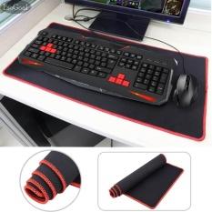 Harga Esogoal Mouse Gaming Dan Game Keyboard Pad Extended Non Slip Big Waterproof Dasar Karet Mat 30 Cm × 60 Cm Merah Esogoal