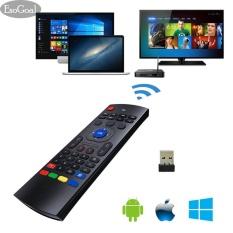 Promo Esogoal Mini Tv Remote Controller Wireless Keyboard Mouse Portable Kontrol Inframerah Air Tikus Untuk Tv Android Windows Lilux Dll Intl Esogoal