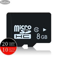 EsoGoal Profesional Micro SD Micro SDHC Memori Kartu Kecepatan Tinggi untuk Mini Smartphone (UHS-1 Kelas 10 Bersertifikat 80 MB/s) -Intl