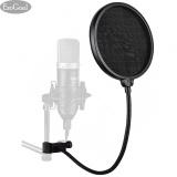 Harga Esogoal Studio Mikrofon Mic Round Bentuk Angin Pop Filter Masker Perisai Dengan Stan Klip Rekaman Vokal Rumah Hitam Esogoal Online