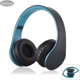 Spesifikasi Esogoal Bluetooth 4 Nirkabel Bass Over The Ear Headphone Fo Mp3 Smart Phones Tablet Biru Yg Baik