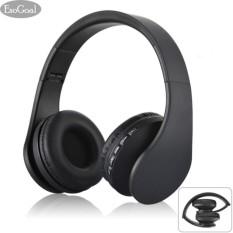 Jual Esogoal Headphone Tanpa Kabel Dengan Bluetooth Dilengkapi Microfon Warna Hitam Esogoal Asli