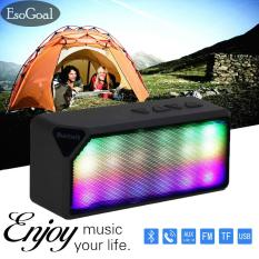 Diskon Esogoal Nirkabel Bluetooth Speaker Portable Warna Mengubah Led Light Wireless Stereo Pengeras Suara Untuk Rumah Dan Outdoor Esogoal