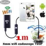 Toko Esogoal Nirkabel Endoskopi Wifi Borescope Inspeksi 2 Megapixels Hd Snake Kamera Untuk Android Smartphone Hitam 1 Meter Intl Online Tiongkok