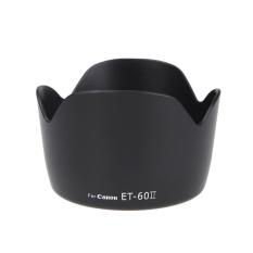 ET-60II Bunga Tutup Lensa untuk Canon EF 75-300 Mm F/4-5.6 III EF-S 55-250 Mm f/4-5.6 IS-Intl