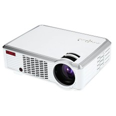 EU PLUG LED - 33 LCD Projector Media Player 2600 Lumens 854 x 540 Pixels for Home Office Education - intl