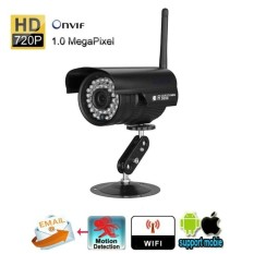 EU PLUG Szsinocam 720P Waterproof IP Camera WLAN Wireleess 1.0Megapixel ONVIF Security CCTV WiFi