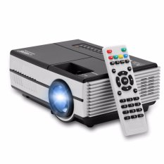 EUG Mini Pico Projector 600D with TV Tuner - Hitam/Silver